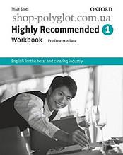 Рабочая тетрадь Highly Recommended New Edition 1 Workbook