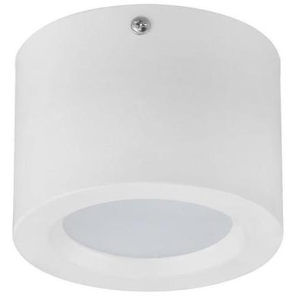 Потолочный светильник накладной SANDRA-5 5W 4200K цилиндр белый Код.59274
