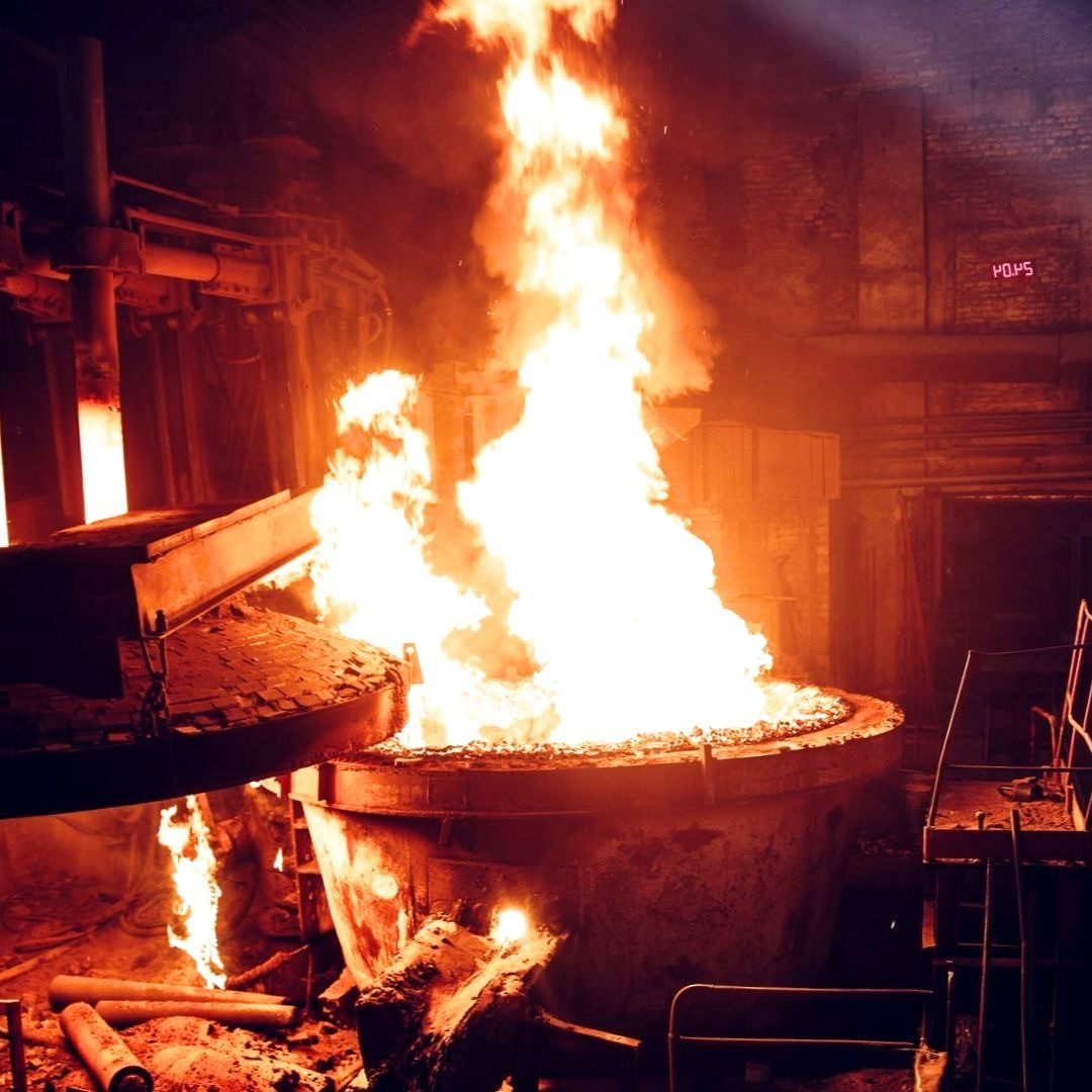 Литье металла, промышленной отрасли