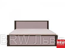 Рафло Ліжко (каркас) LOZ 160 дуб венге бронз/сірий глянець БРВ Україна
