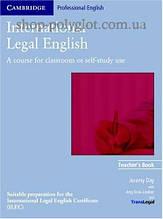 Книга для учителя International Legal English Teacher's Book