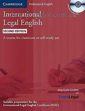 Учебник International Legal English Second Edition with Audio CDs