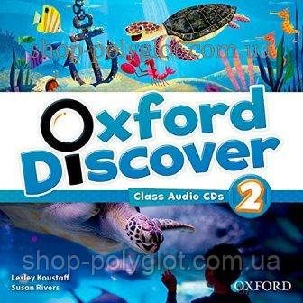 Аудио диск Oxford Discover 2 Class Audio CDs