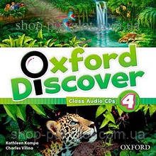 Аудио диск Oxford Discover 4 Class Audio CDs