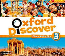 Аудио диск Oxford Discover 3 Class Audio CDs