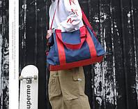 Спортивная сумка с двумя основными отделениями, и один  карман на змейке