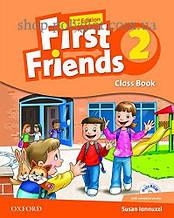 Учебник First Friends 2nd Edition 2 Class Book with MultiROM