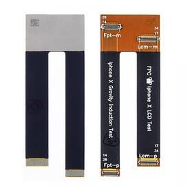 Шлейф для Apple iPhone X для проверки модульных дисплеев