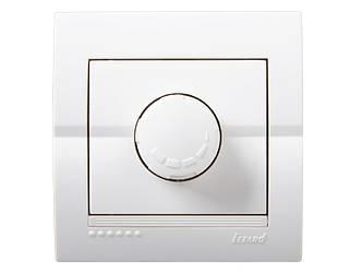 Диммер 800 Вт ТМ LEZARD серії Dery білий