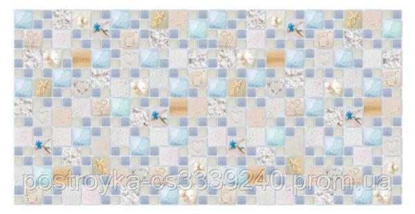 Декоративные Панели ПВХ Мозаика лагуна песчаная
