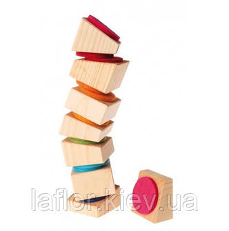 Пирамидка деревянная Grimms Пизанская башня, фото 2