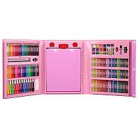 Набір для малювання  Mega Art Set з мольбертом Рожевий (5516)