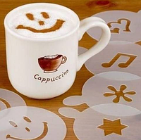 Оригинал! Трафареты для кофе