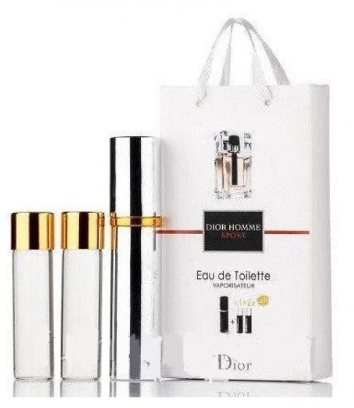 Мужской мини парфюм Christian Dior Dior Homme Sport,  3*15 мл