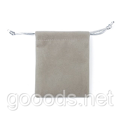 Подарочный тканевый мешочек для украшений и бижутерии 10х8 см