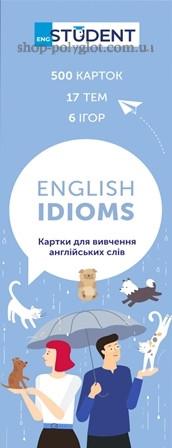 Карточки Картки для вивчення англійських слів English Idioms