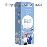 Карточки Картки для вивчення англійських слів English Idioms, фото 2