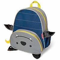 Рюкзак Skip Hop Летучая Мышь Bailey Bat Синий-Серый 816523026218