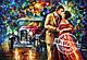 "Картина по номерам ""Поцелуй из прошлого"" худ. Афремов Леонид (VP078) Турбо 40 х 50 см, фото 2"