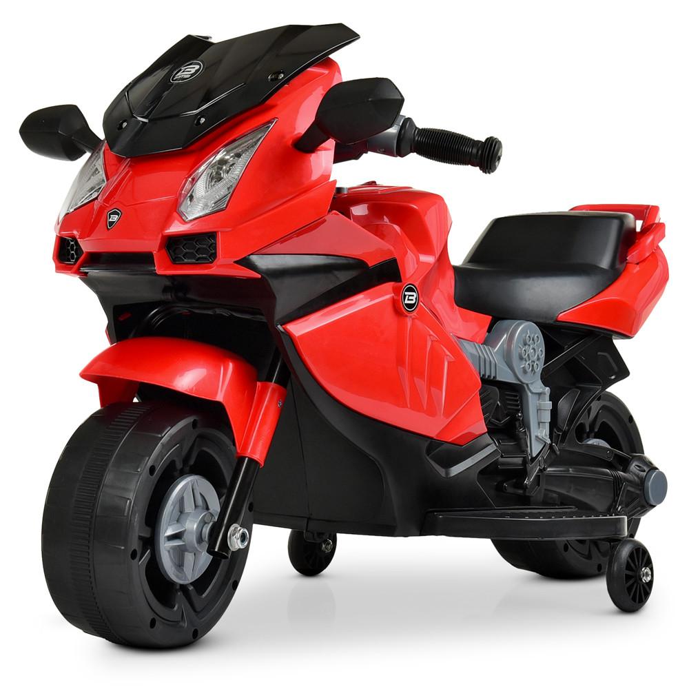 Мотоцикл Bambi M 4082-3 Красный
