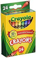 Карандаши восковые Crayola 24 шт 52/3024