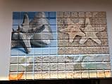 Декоративные Панели ПВХ Мозаика пляж, фото 2