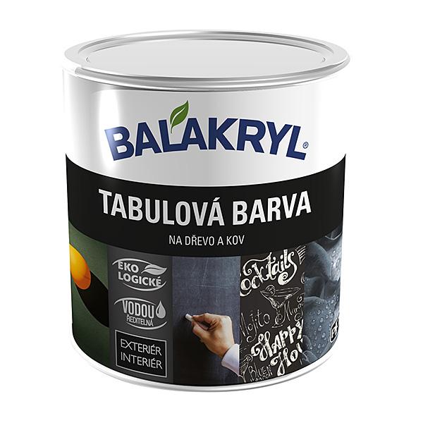 Грифельная краска Balakryl Tabulová barva 0,8кг
