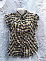 """Рубашка женская с принтом, размер 42-50 """"KING"""" купить недорого от прямого поставщика, фото 1"""