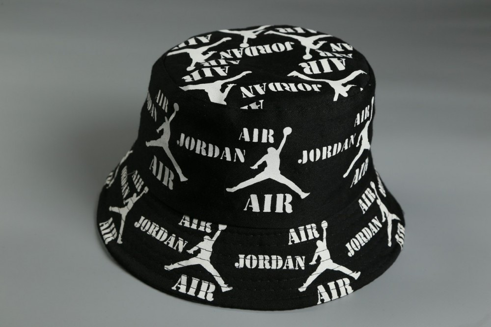 Брендовая панама Air Jordan 21404 черная