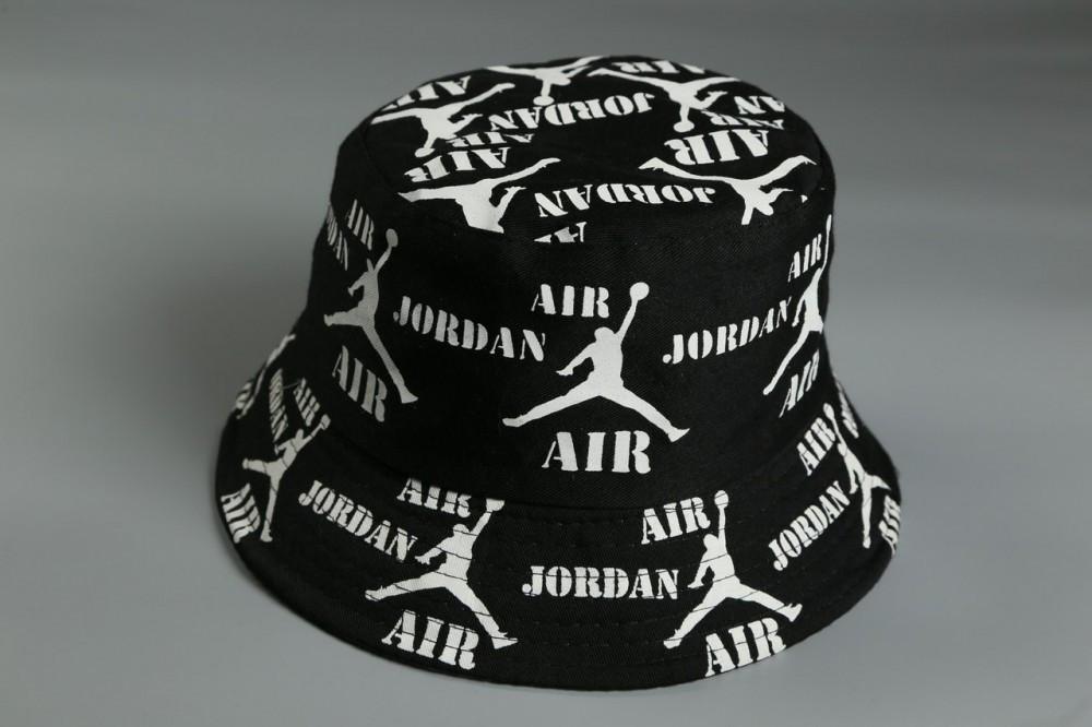 Брендовий панама Air Jordan 21404 чорна