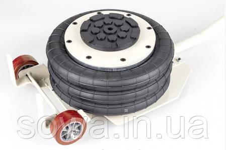 Домкрат пневматический Euro Craft /  3,5т / 150-400мм, фото 2