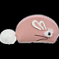 Кейс для монет Zibi Fur Rabbit 12,5 х 8,5 х 4,5 см персиковый