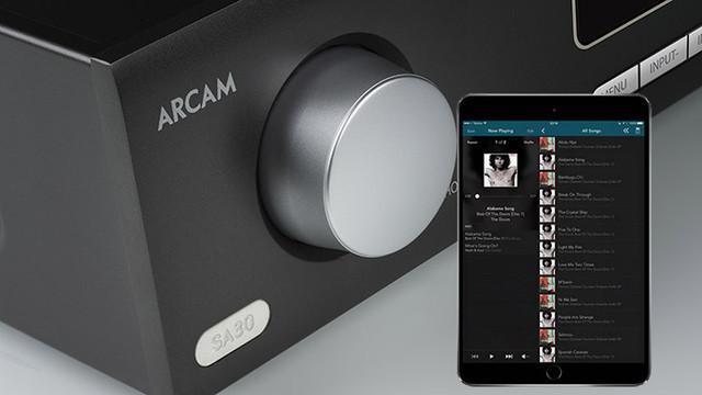 Arcam SA30 Class G интегральный стерео усилитель с сервисами Spotify, Tidal, Qobuz, Deezer