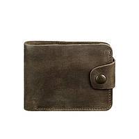 Кожаное портмоне Blanknote 4.3 темно-коричневое
