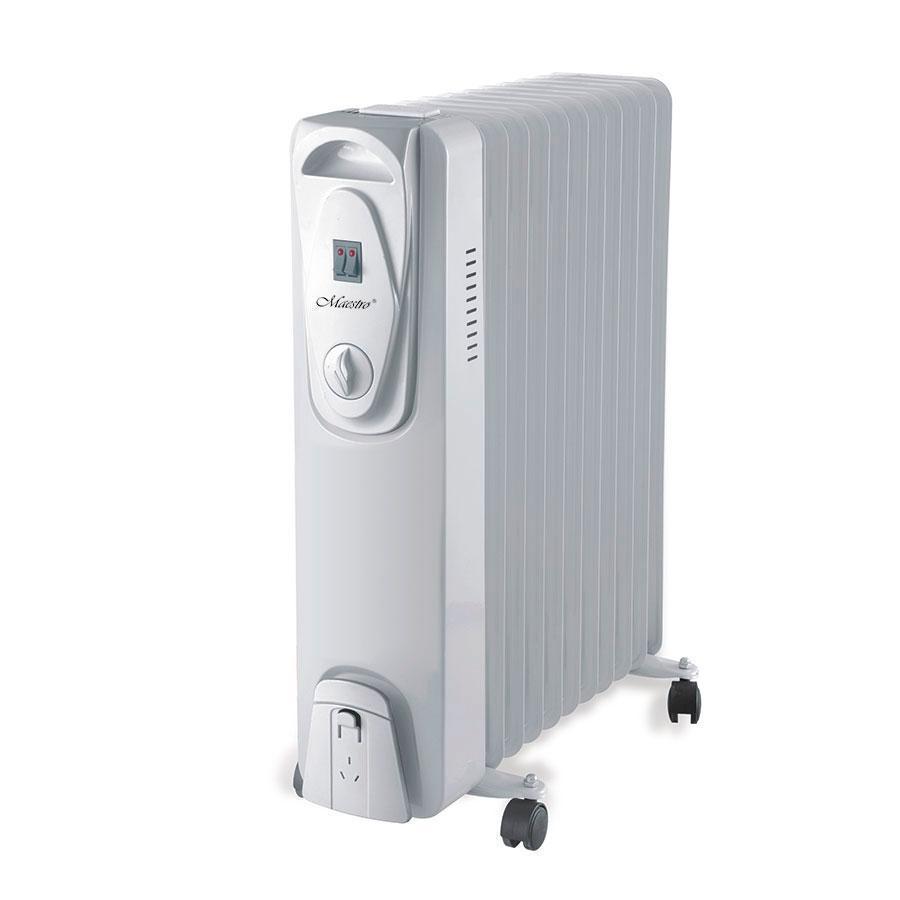 Масляный радиатор Maestro MR-951-11 | обогреватель для дома | батарея | тепловентилятор Маэстро, Маестро
