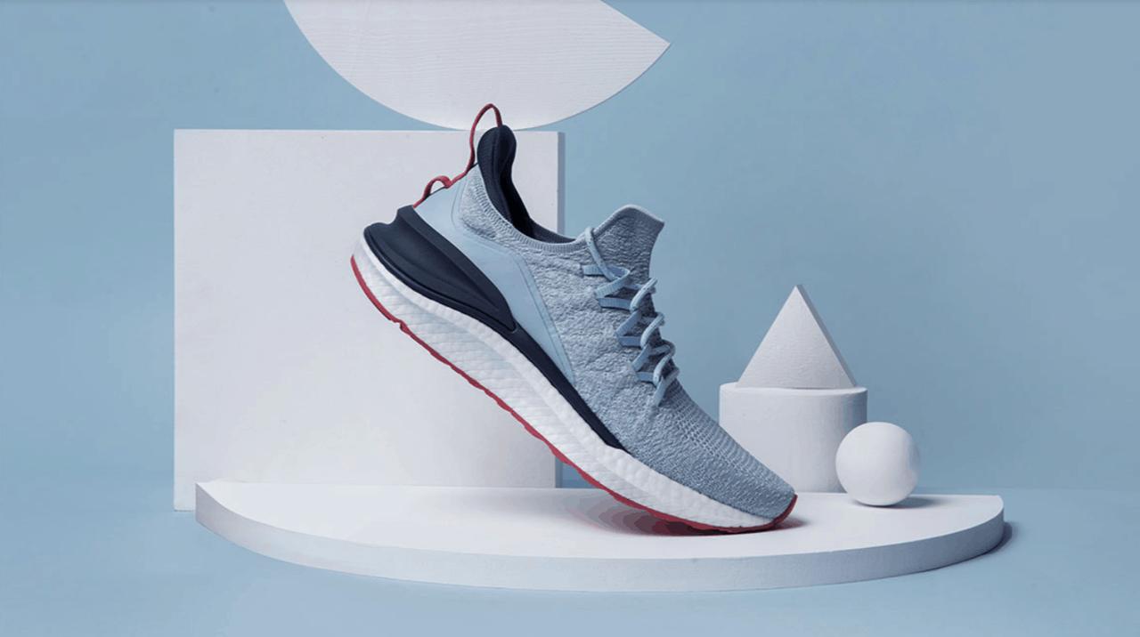 Кроссовки Xiaomi Mijia 4 Sneaker Sport Shoe 44 размер голубые