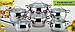 Набор посуды Maestro Jambo Apple MR-3501, 12 предметов из нержавеющей стали | кастрюля Маестро, ковш Маэстро, фото 5