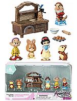 Игровой набор микро фигурок Белоснежка Disney Disney Animators' Collection Littles Snow White Mini Set