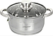 Набор посуды Maestro MR-2220-10, 10 предметов, нержавеющая сталь, все типы плит | кастрюли Маэстро, Маестро, фото 2