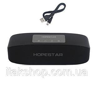 Портативная Bluetooth колонка Hopestar H11 USB FM Black