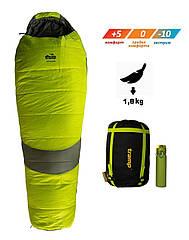 Спальный мешок Tramp Voyager Long TRS-052L. Спальник кокон. Туристический спальник