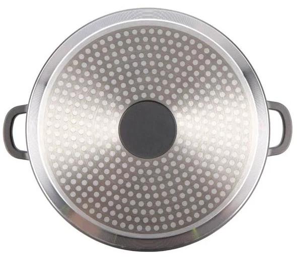 Кастрюля c антипригарным покрытием Maestro MR-4628C (5.8 л) | казан с крышкой из литого алюминия Маэстро