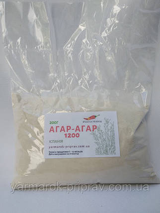 Агар-агар 1200, 200г, фото 2