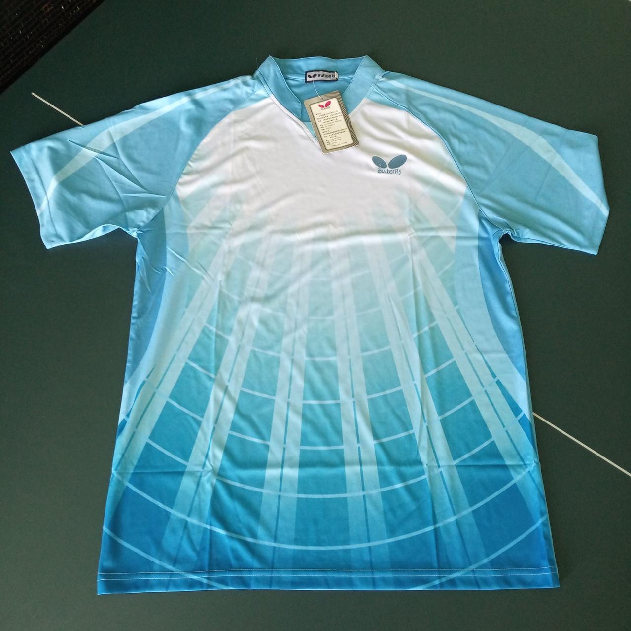 Тенниска Butterfly Light Blue