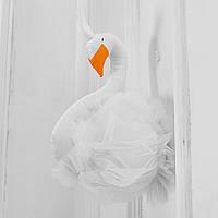 Мягкая игрушка украшение Лебедь Berni