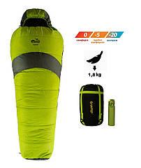 Спальный мешок Tramp Hiker Compact кокон TRS-051С. Спальник кокон. Туристический спальник