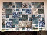 Декоративные Панели ПВХ Мозаика морской бриз, фото 2