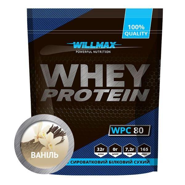 Протеин Willmax WHEY PROTEIN 80% 920г ВАНИЛЬ
