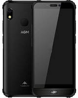 "Смартфон AGM A10 4/128GB Black, 13/8 Мп, 5.7"" IPS, Tiger T310, 4 ядра, 4400 мАч, 4G"