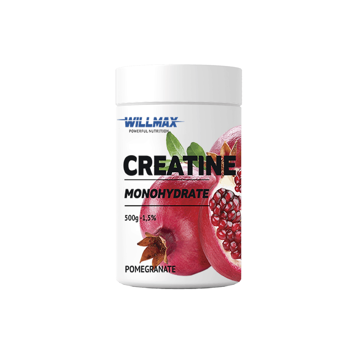 Креатин Willmax Creatine Monohydrate 500g ГРАНАТ